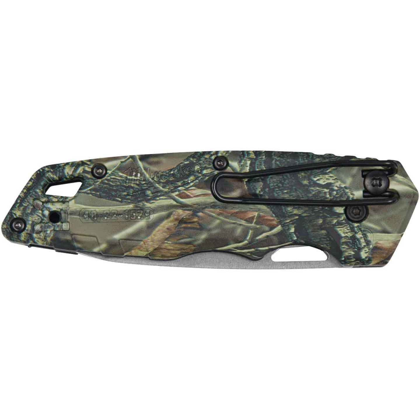 Milwaukee FASTBACK 2.95 In. Camo Folding Knife Image 4