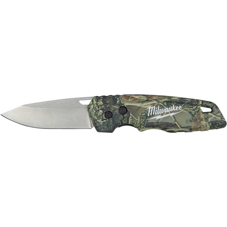 Milwaukee FASTBACK 2.95 In. Camo Folding Knife Image 1