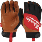 Milwaukee Men's Large Leather Performance Work Glove Image 1