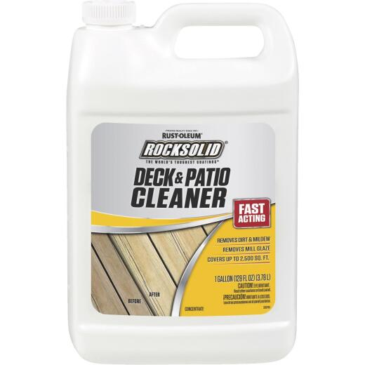 Rust-Oleum RockSolid 1 Gal. Deck & Patio Cleaner Concentrate