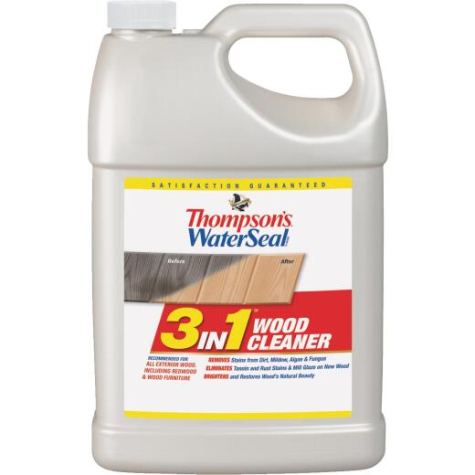 Thompson's WaterSeal 1 Gal. 3-In-1 Wood Deck Cleaner