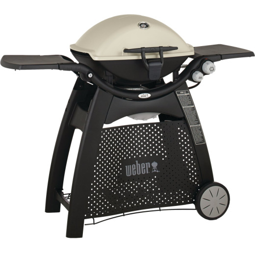 Weber Q 3200 2-Burner Black 21,700-BTU LP Gas Grill