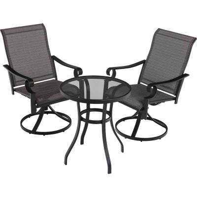 Outdoor Expressions Somerset 3-Piece Bistro Set