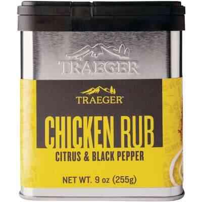 Traeger 9 Oz. Citrus & Black Pepper Flavor Chicken Rub