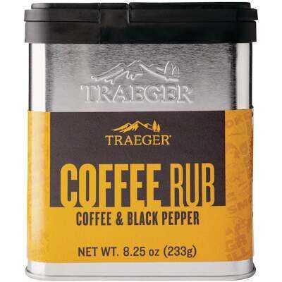 Traeger 8.25 Oz. Coffee & Black Pepper Flavor Beef Rub
