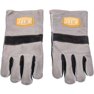 Oklahoma Joe's One Size Leather Smoking Gloves