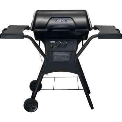 Thermos QuickSet 2-Burner Black 26,500-BTU LP Gas Grill