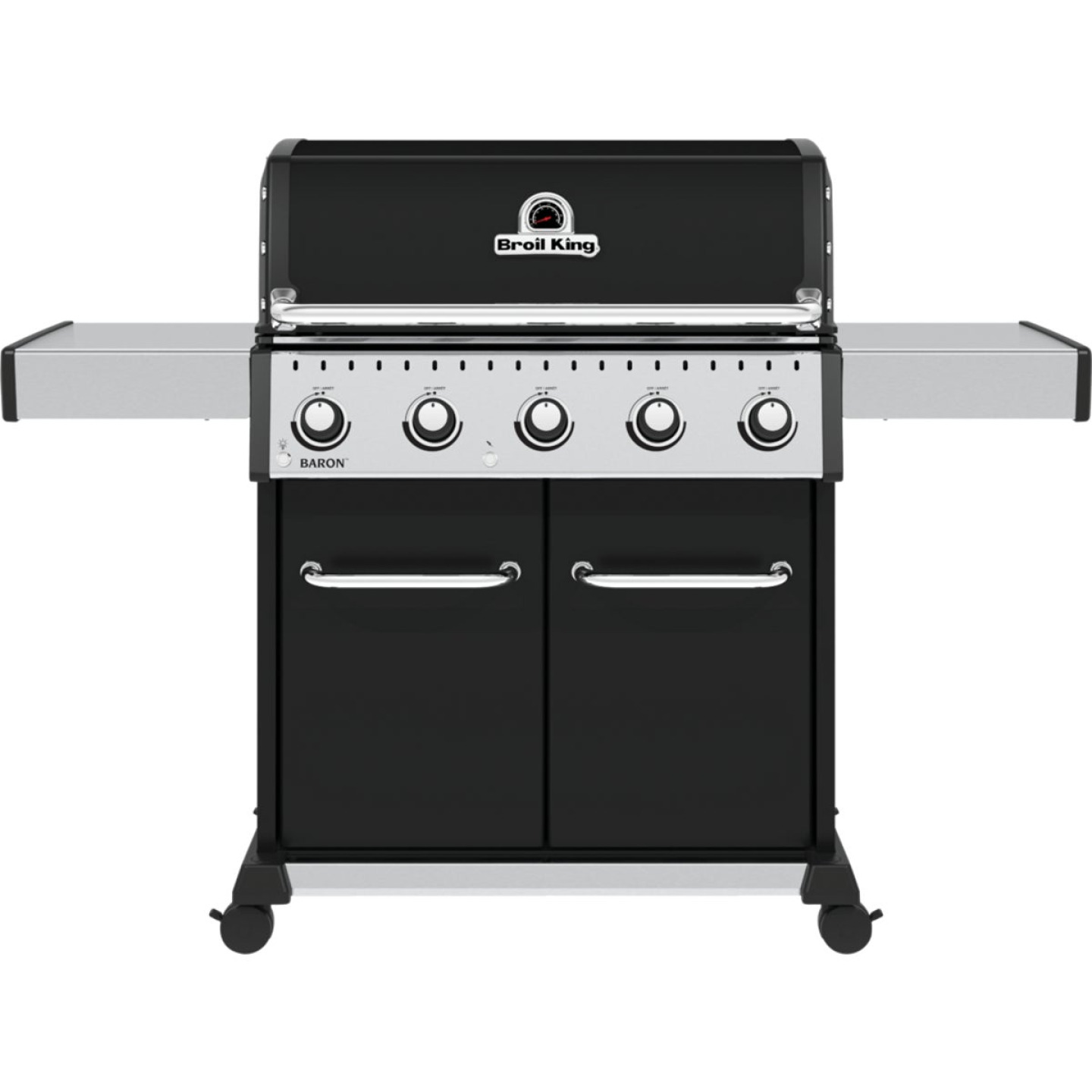 Broil King Baron 520 Pro 5-Burner Black 45,000 BTU LP Gas Grill Image 1
