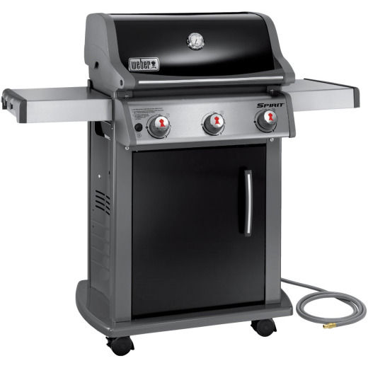 Weber Spirit E-310 3-Burner Black 32,000-BTU Natural Gas Grill