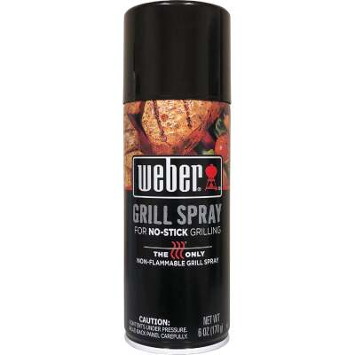 Weber 6 Oz. Non-Stick Grilling Aerosol Spray