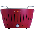 Grill Time Tailgater GT Red 124 Sq. In. Charcoal Portable Grill Image 1