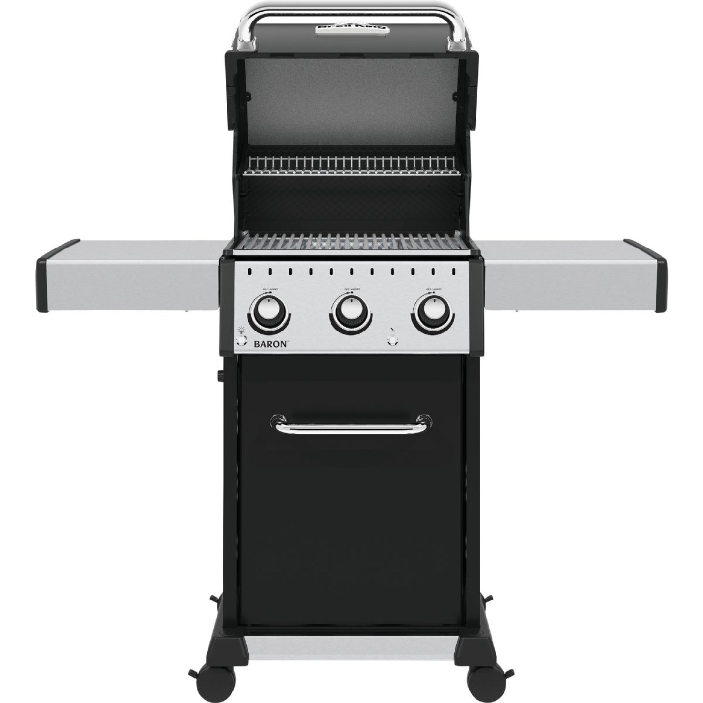 Broil King Baron 320 Pro 3-Burner Black 32,000 BTU LP Gas Grill Image 5
