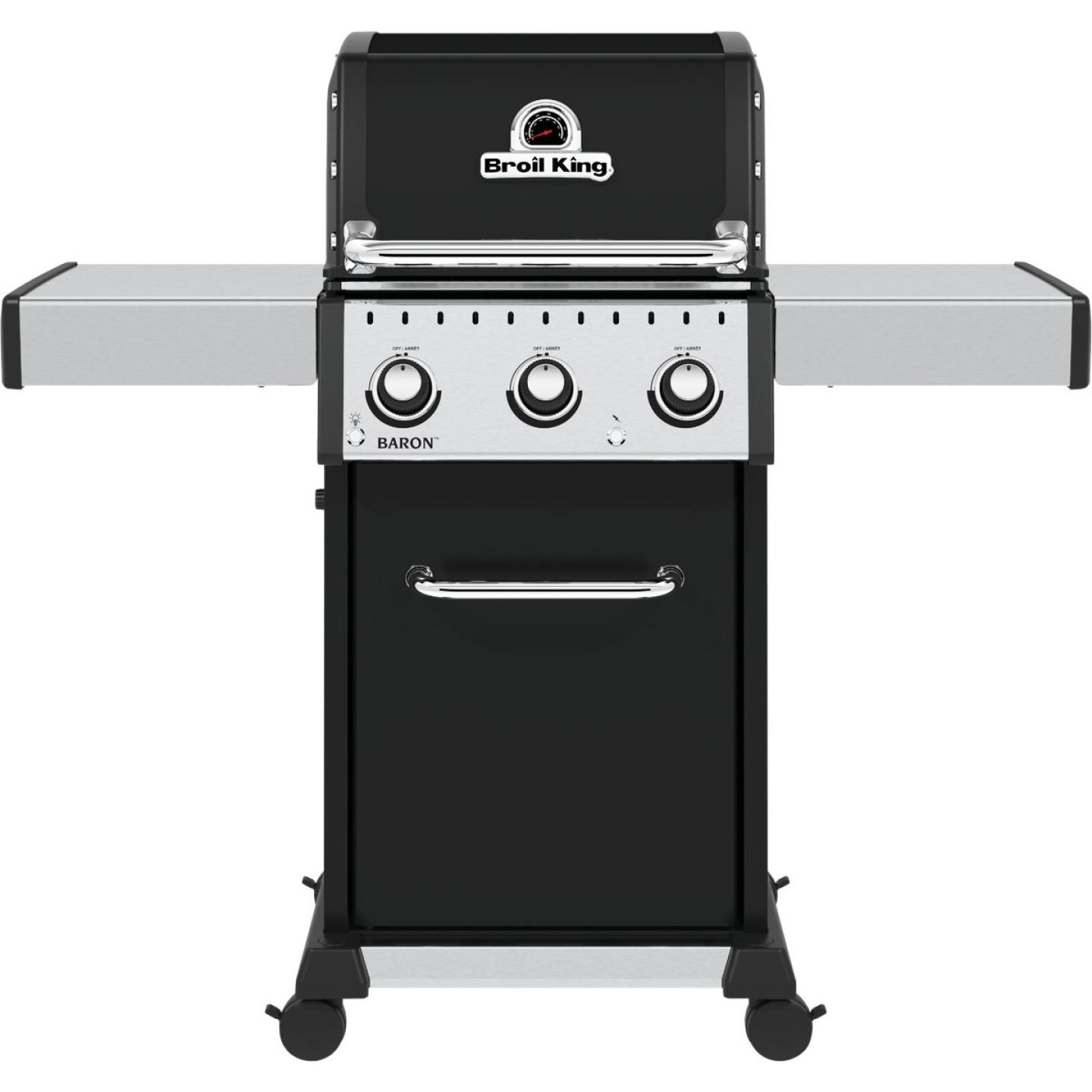 Broil King Baron 320 Pro 3-Burner Black 32,000 BTU LP Gas Grill Image 1