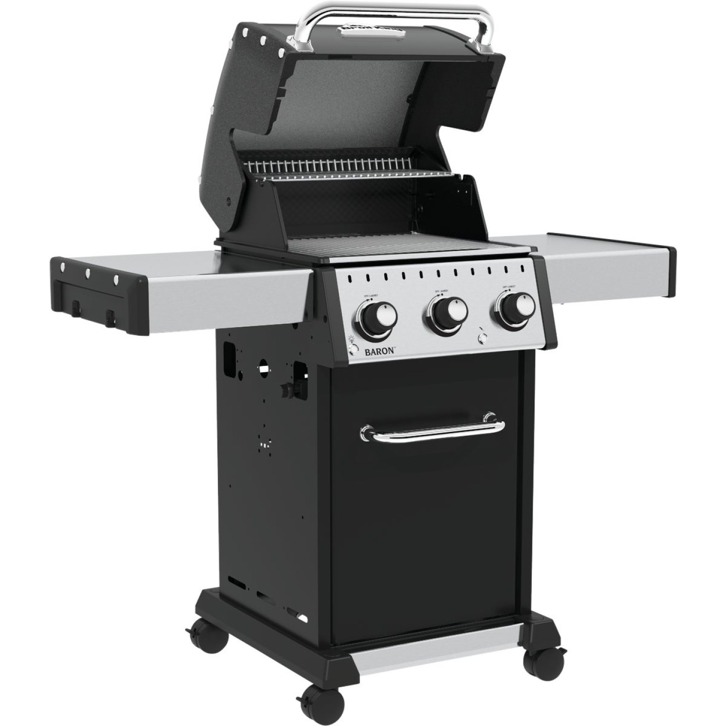 Broil King Baron 320 Pro 3-Burner Black 32,000 BTU LP Gas Grill Image 3