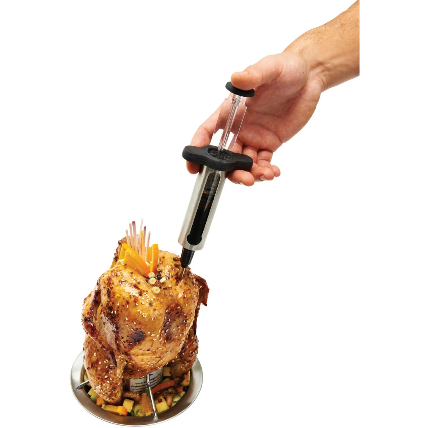 Broil King Stainless Steel 8 In. Premium Meat injector Image 3