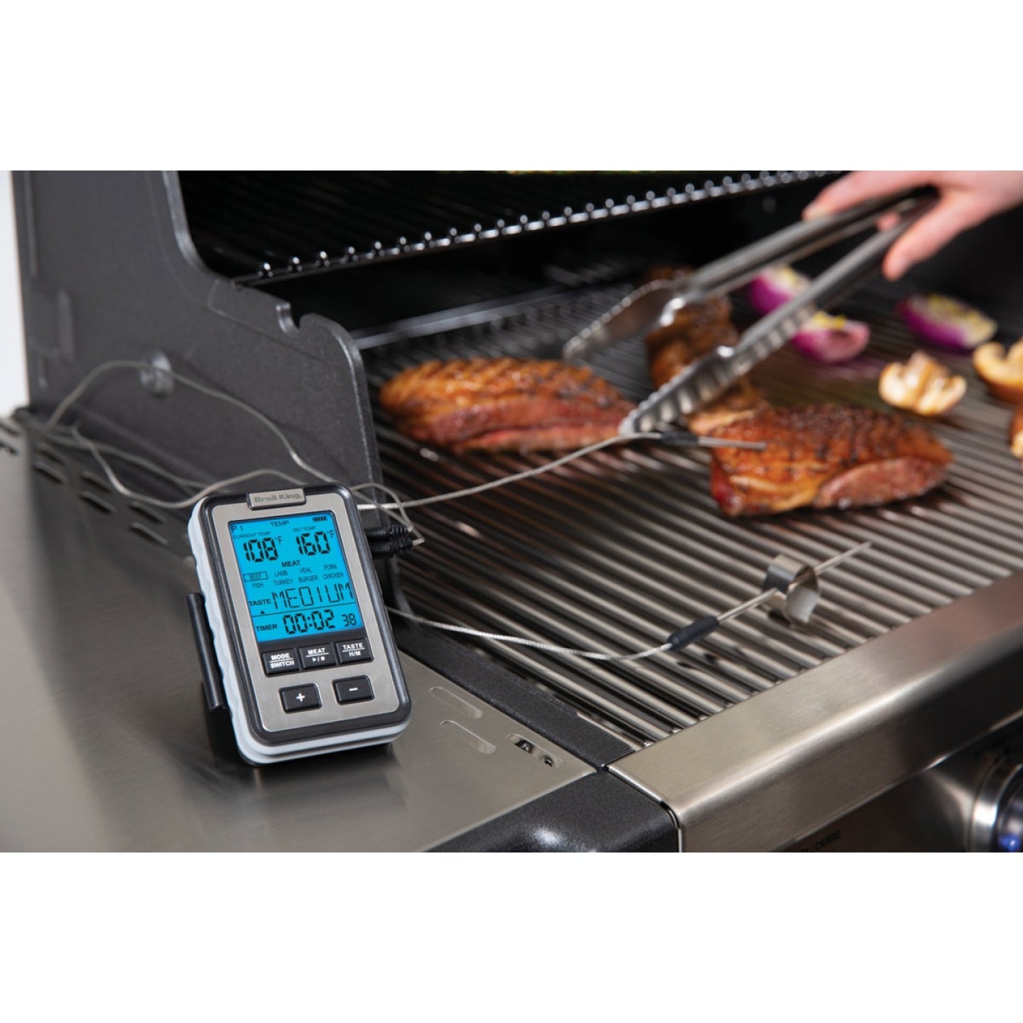 Broil King Digital Side Shelf Dual Probe Thermometer Image 2