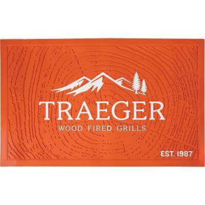 Traeger 47 In. W. x 30 In. L. Rectangle Grill Mat