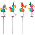 Alpine 35 In. Metal Bird Garden Stake Lawn Ornament Image 1