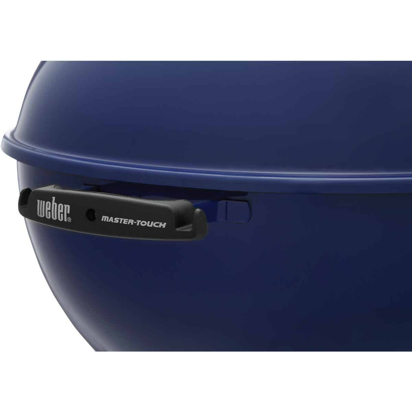 Weber Master-Touch 22 In. Dia. Deep Ocean Blue Charcoal Grill Image 11