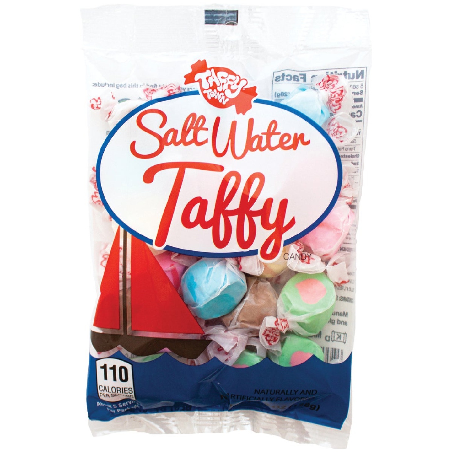 Taffy Town Salt Water 4.5 Oz. Taffy Image 1
