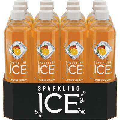 Talking Rain Sparkling Ice 17 Oz. Water, Orange Mango